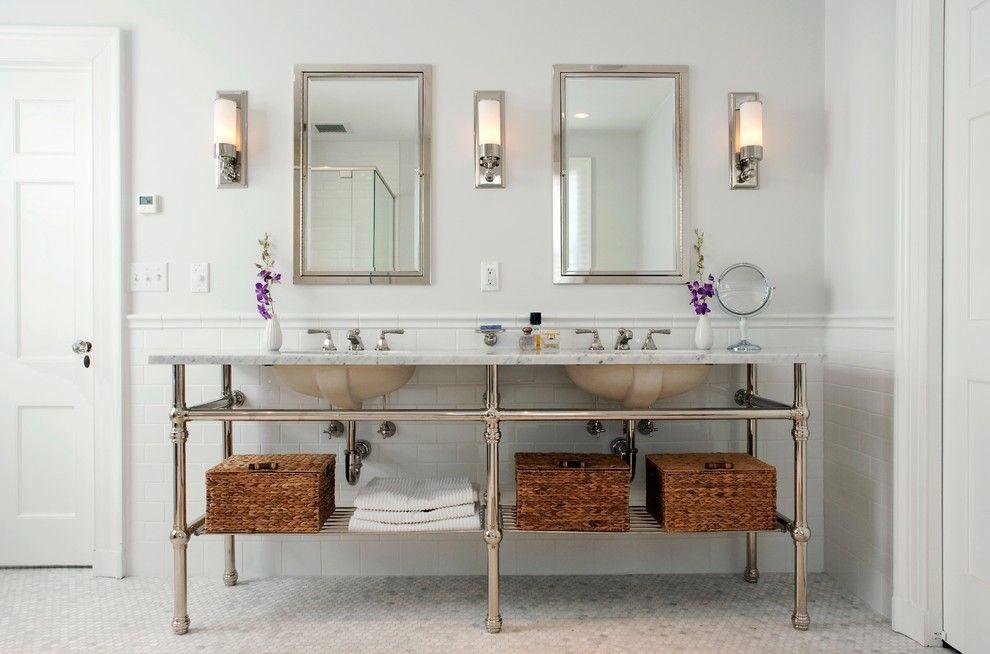Badezimmer Spiegel Ideen Bad Doppelwaschtisch Waschbeckenunterschrank Tolle Badezimmer