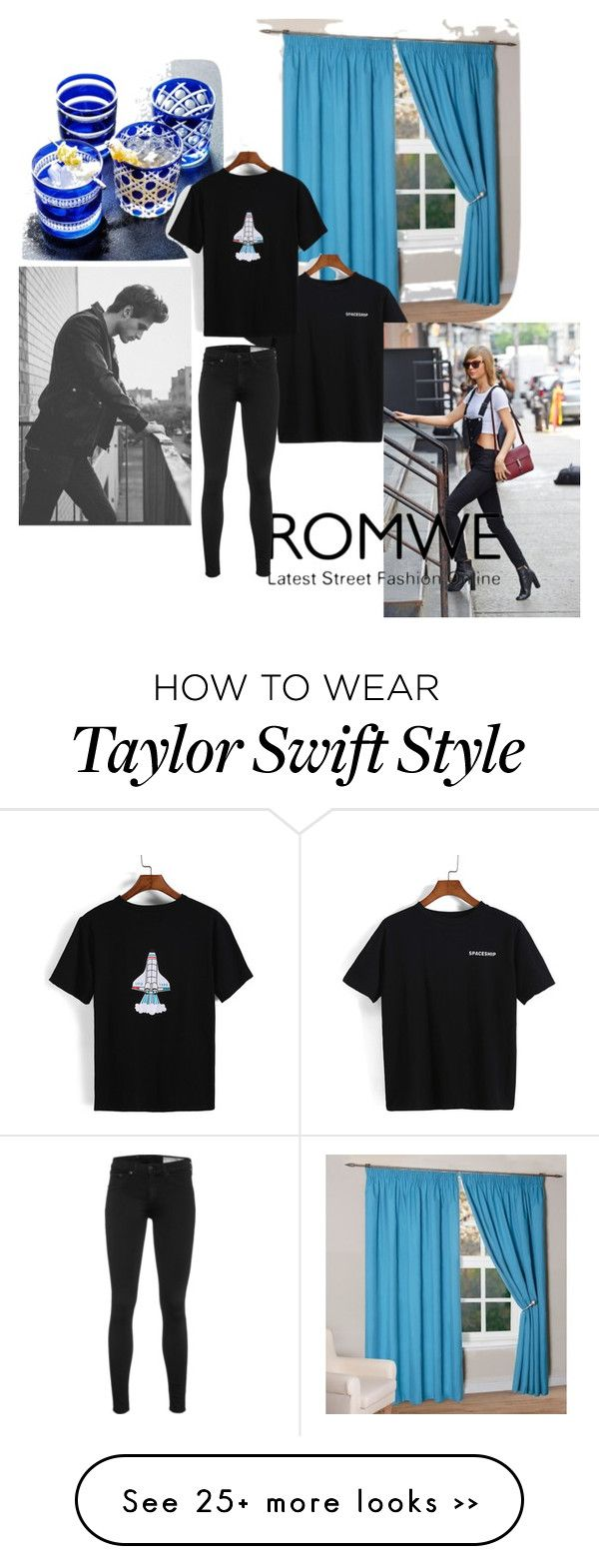 """Romwe"" by minasalkicm on Polyvore featuring rag & bone"