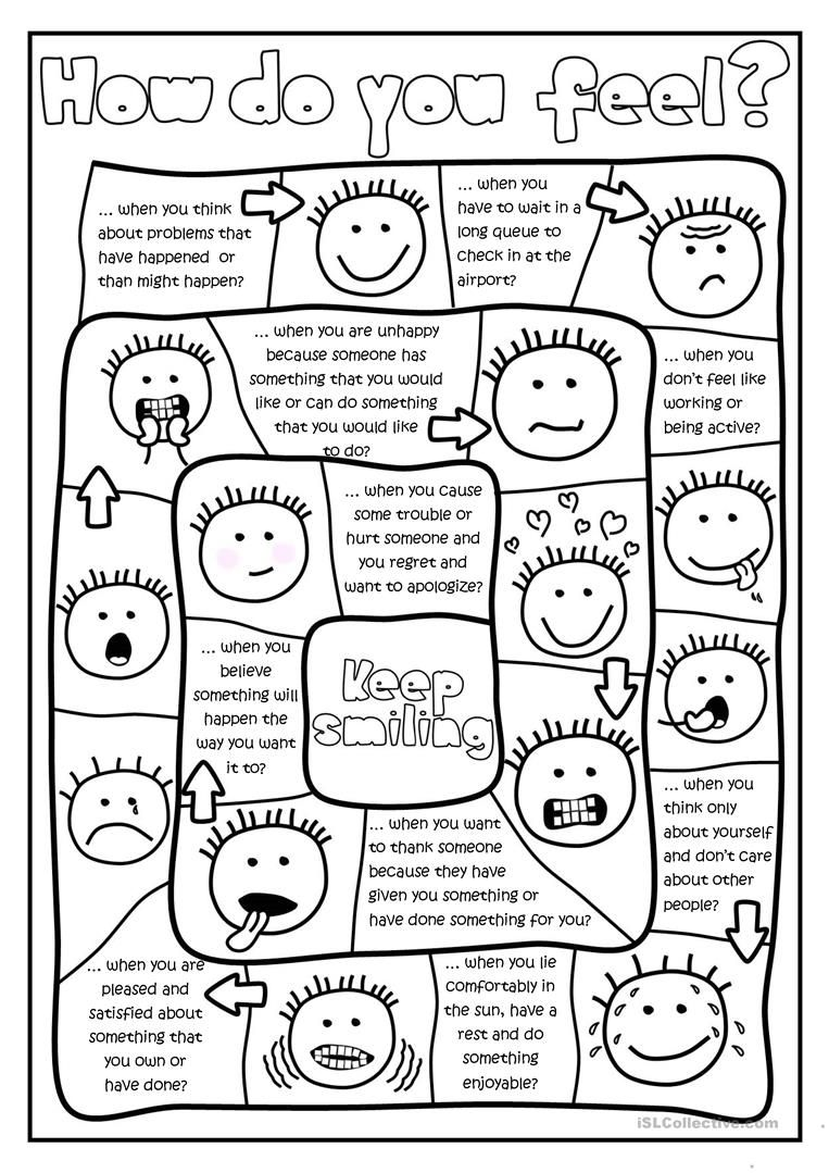 Free Feelings and Emotions Printables and Activities