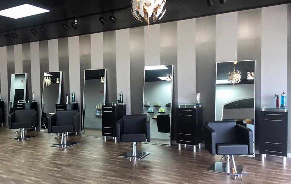 Lg Howard Hair Salon Decorating Ideas In 2020 Salon Interior Design Beauty Salon Design Salon Interior