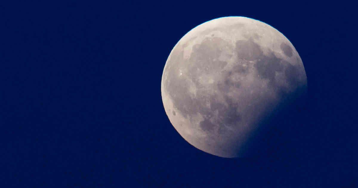 Partielle Mondfinsternis Heute