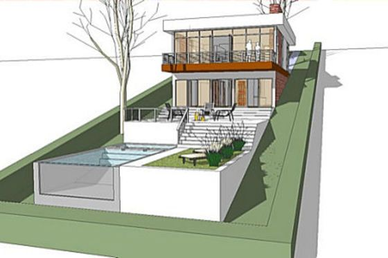 House Plan 64 166 Sloping Lot House Plan Building A House Architecture House