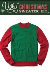 be4a27dc6a DIY Ugly Sweater Kit... comes with the sweater plus all kinds of extras to  decorate with!