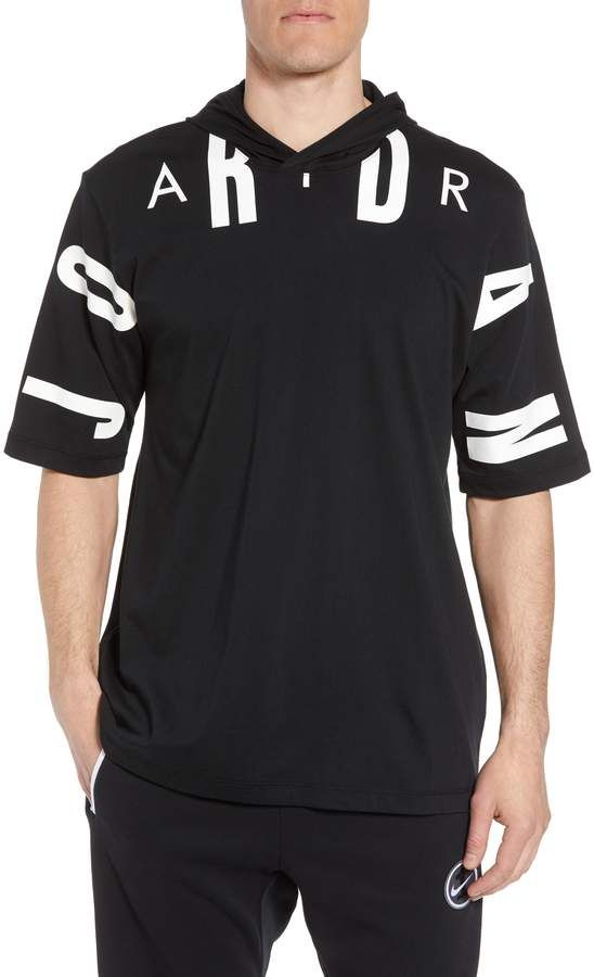 13fd9e845d7 Nike JORDAN Jordan 23 Hooded T-Shirt   Products in 2019   Mens ...