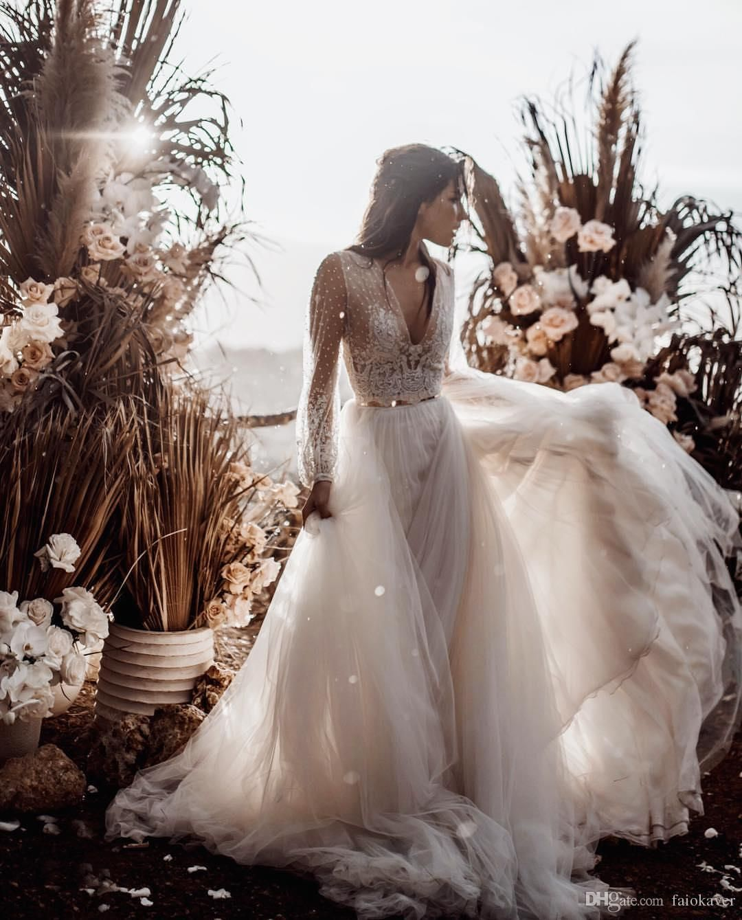 Beach Wedding Dresses Made To Perfection Modwedding Spaghetti Strap Wedding Dress Wedding Dresses Cheap Wedding Dress [ 1096 x 736 Pixel ]