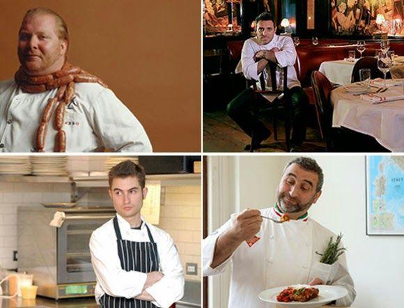 Strike a Pose...  Hot Looks for Cooks, Italian Street Food, Ice Cream. Food Trends (?) Improve The Basic!