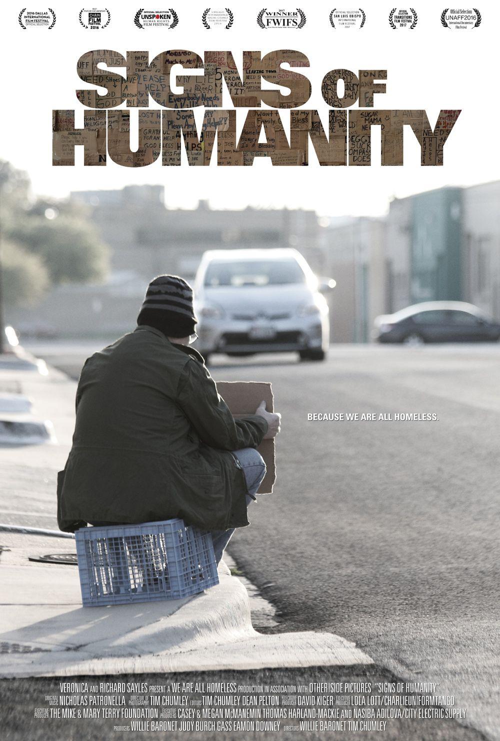 We Are All Homeless We Are All Homeless Homeless Health Awareness Poster Awareness Poster