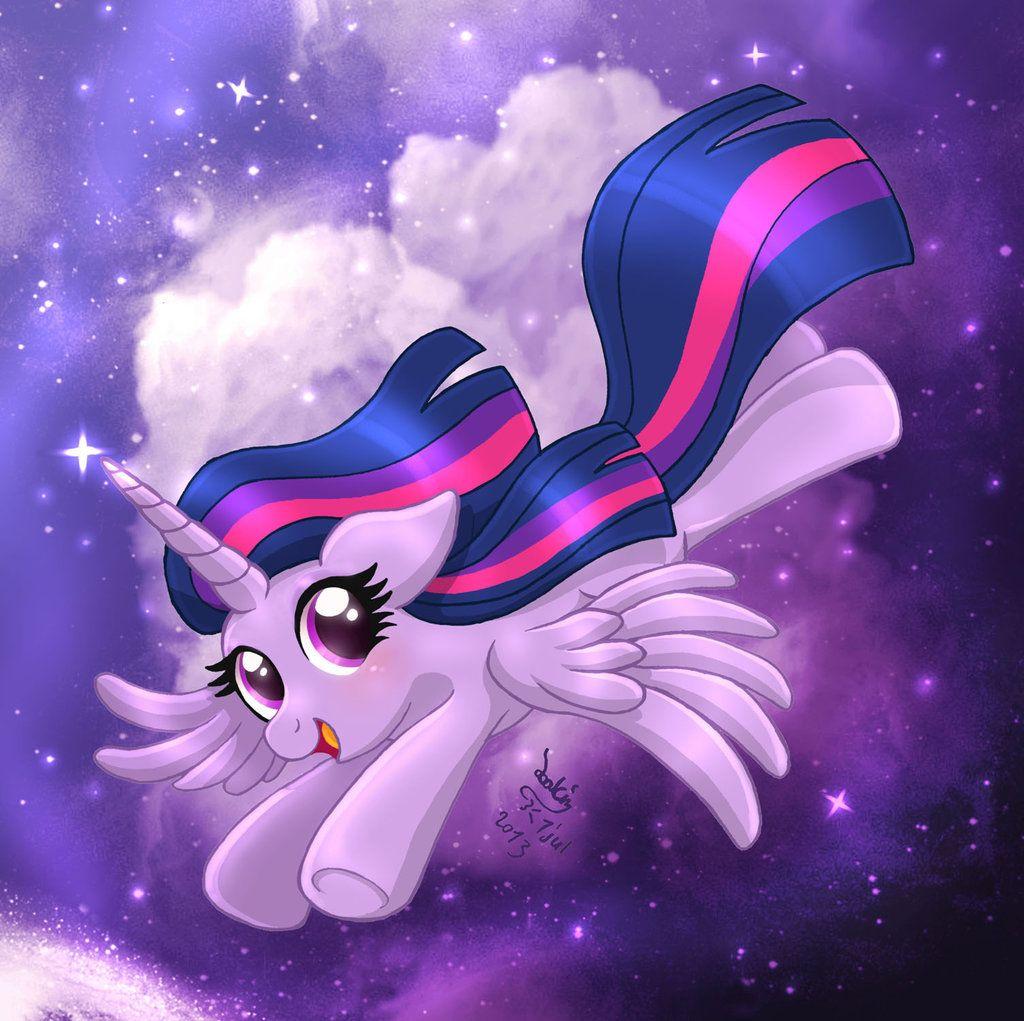 MLP FIM - Princess Twilight Sparkle Flying by Joakaha.deviantart.com on @deviantART