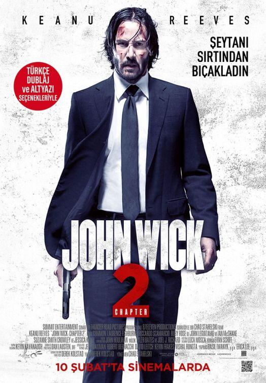 e80339a9333 John Wick  Chapter Two (aka John Wick 2) Movie Poster ( 6 of 19) - IMP  Awards