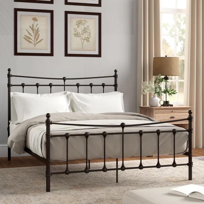 Bensley Standard Bed Affordable Bed Frames Bed Bed Sizes
