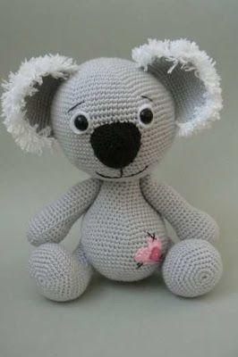 Sake-Knitting Amigurumi My toys: Photographs Koala 3.Amigurumi Sake Event