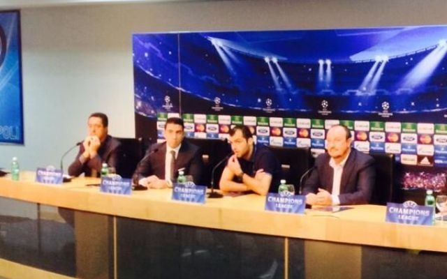 """Pandev alla vigilia di Napoli-Arsenal: """"Cercheremo di vincere a tutti i costi"""" #arsenal # #napoli # #pandev"""