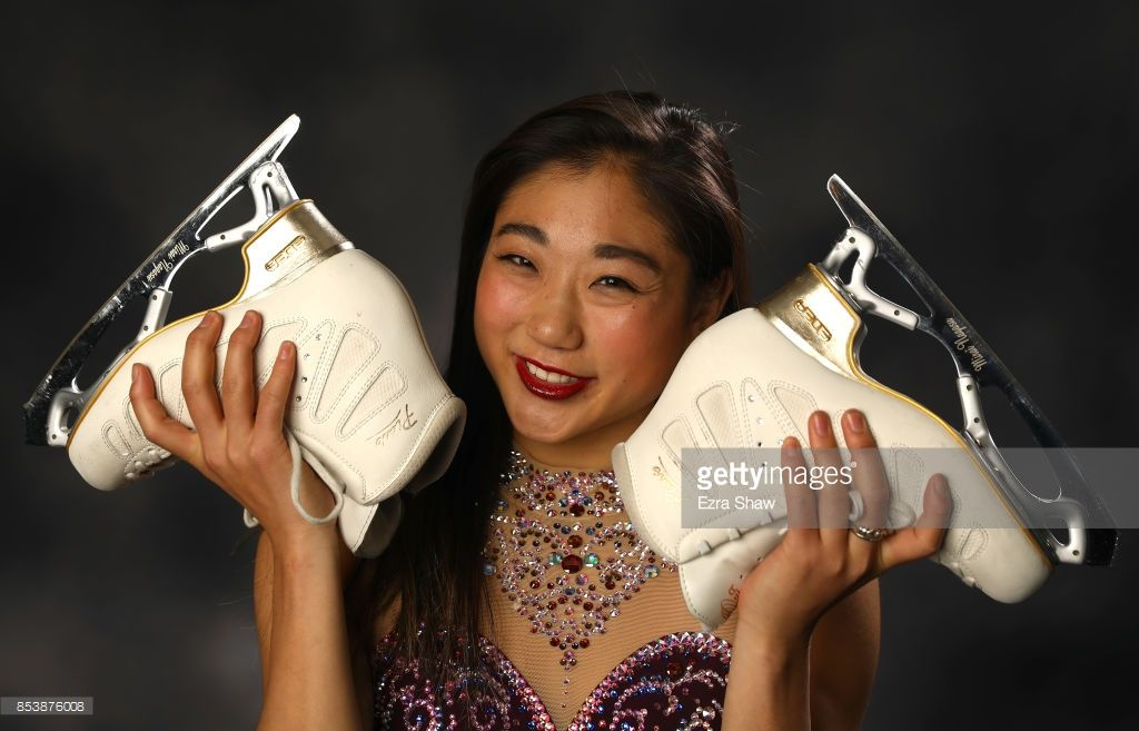 Figure Skater Mirai Nagasu poses for a portrait during the Team USA Media Summit ahead of the PyeongChang 2018 Olympic Winter Games on September 25, 2017 in Park City, Utah.  (Photo by Ezra Shaw/Getty Images)