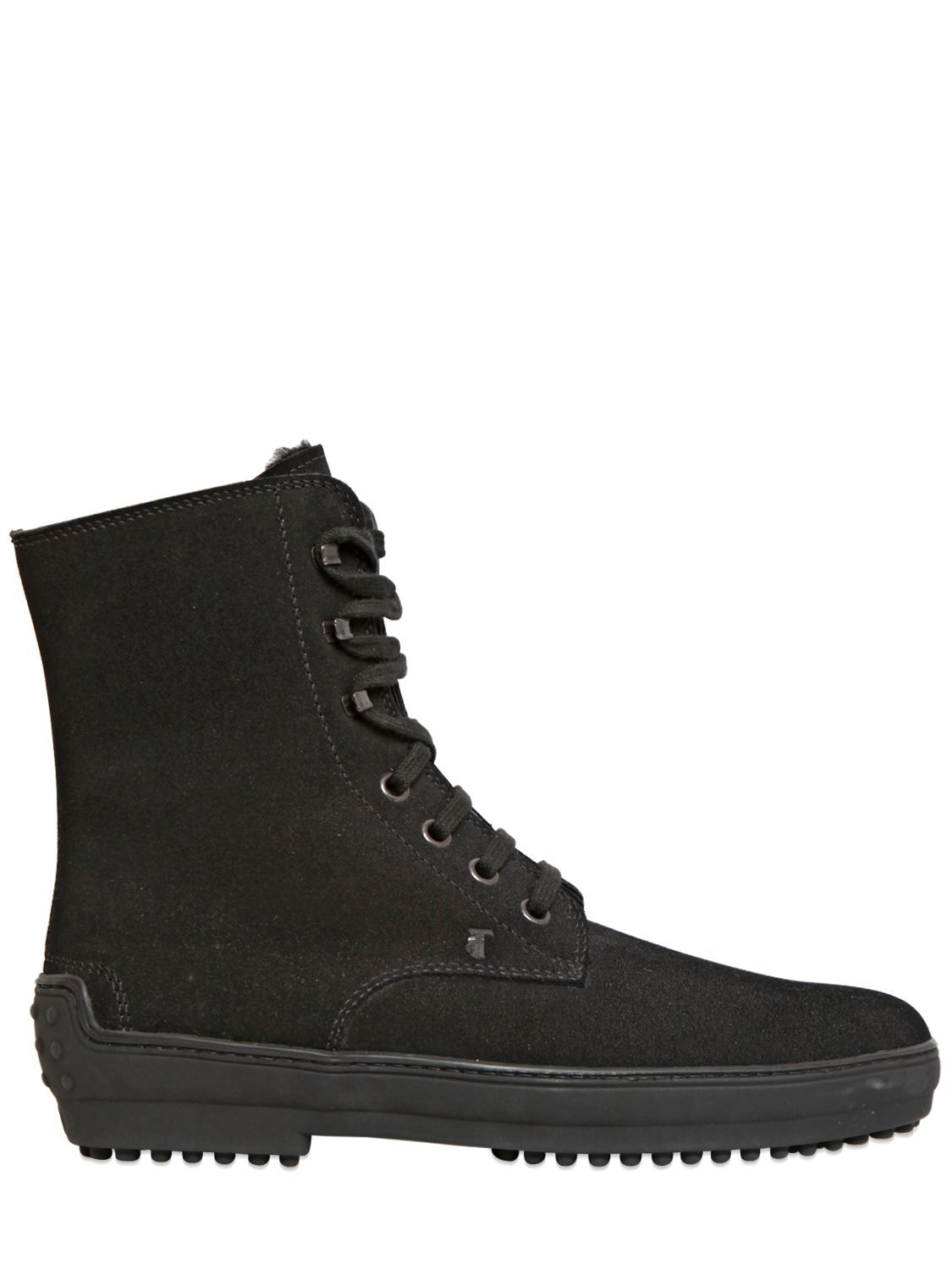 fc08b787ca9 TOD'S - 20MM WINTER GOMMINO SUEDE BOOTS - LUISAVIAROMA | Shoes ...