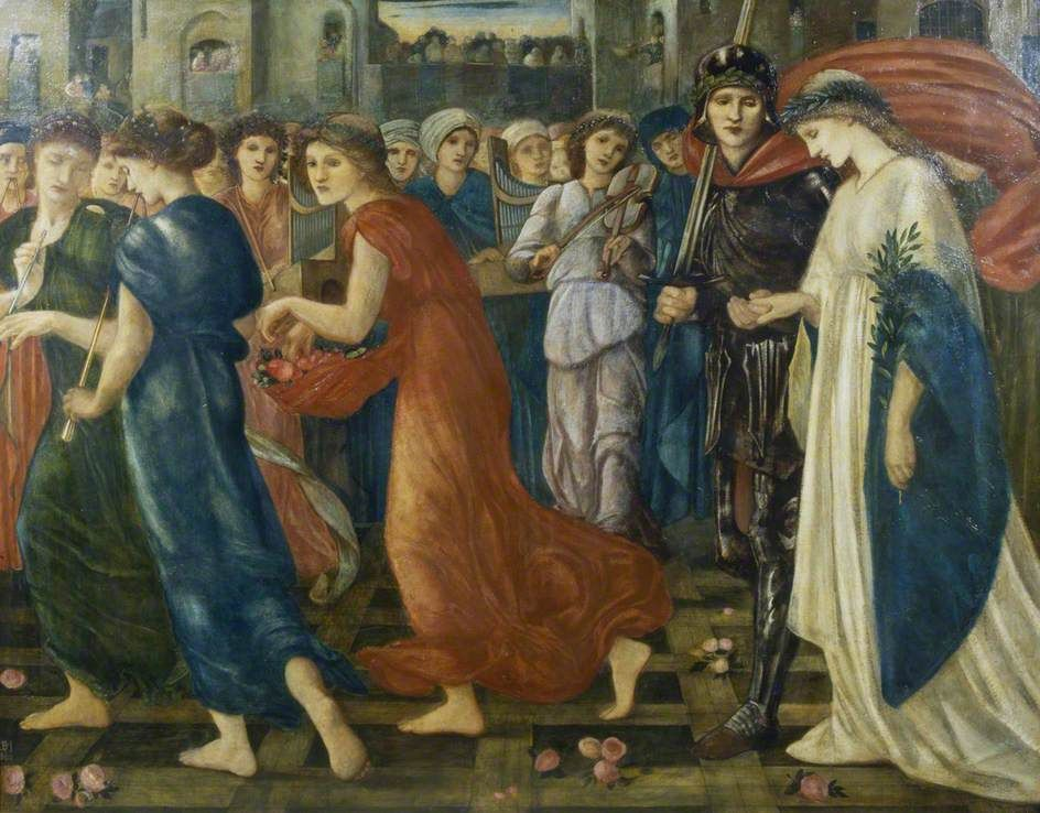 The Athenaeum - Saint George and the Dragon: The Return (Sir Edward Burne-Jones - )