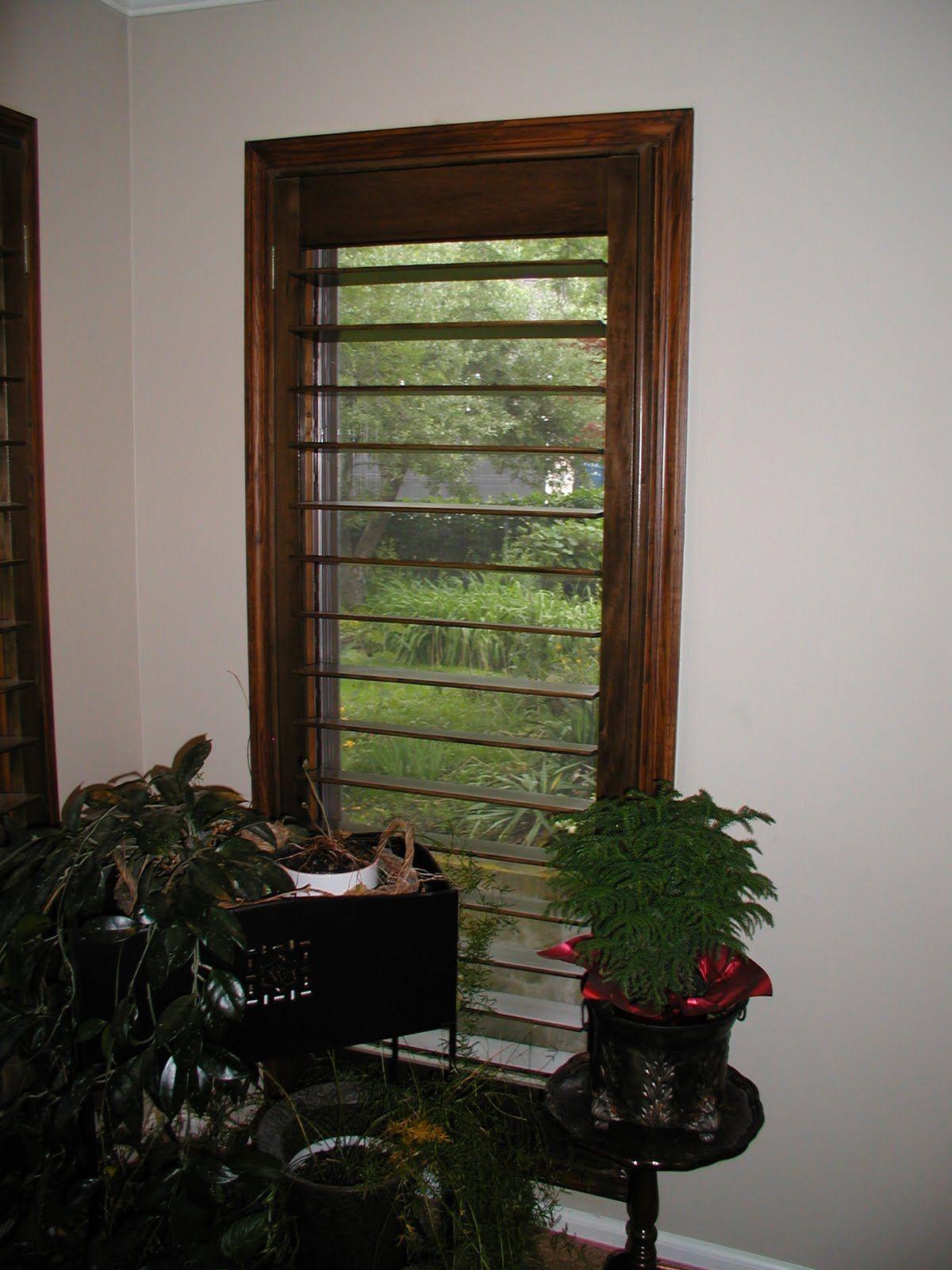 Gallery ladder decor shutters decor