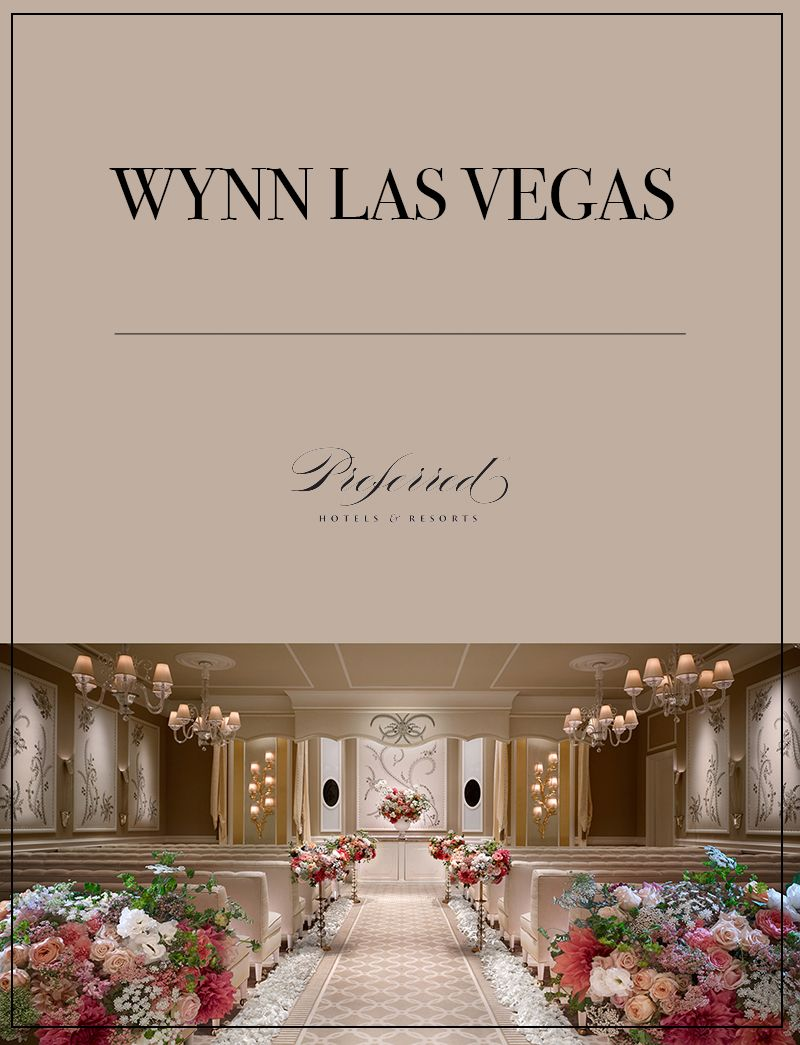 Planning a Vegas wedding? The Wynn Las Vegas will help you celebrate your big day with style and elegance. | Wynn las vegas. Las vegas weddings. Vegas
