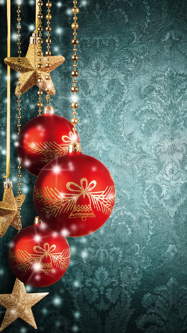 Christmas balls Apple iPhone 5s hd wallpapers available