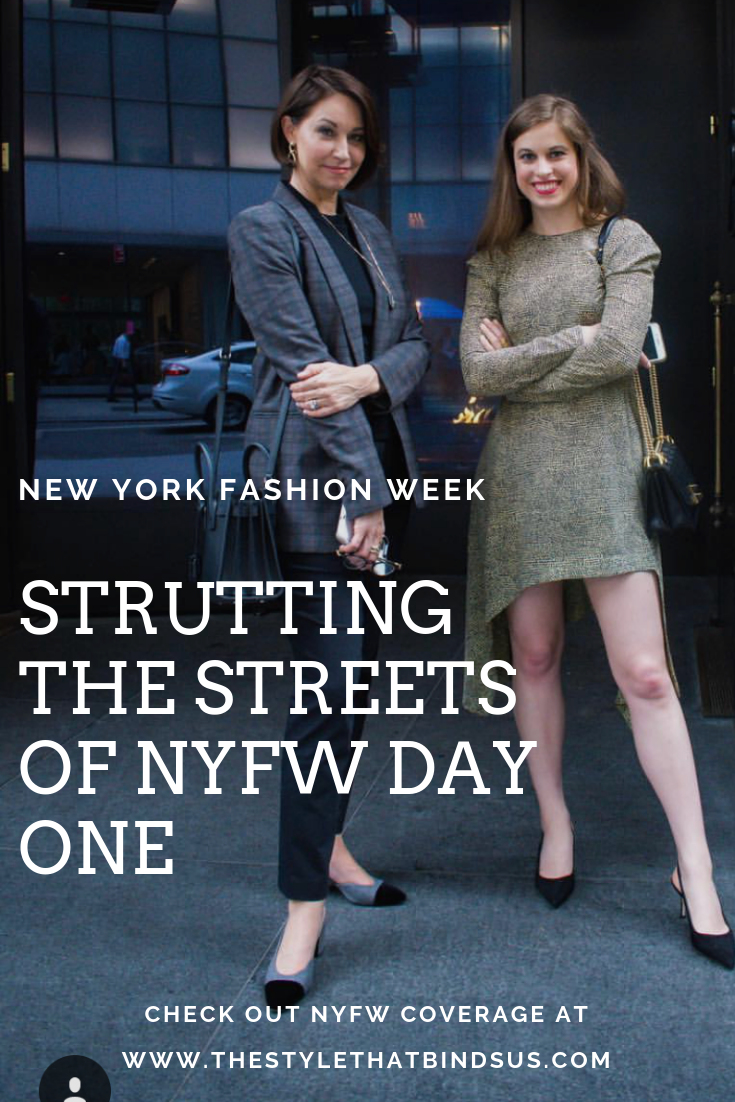 025ad25a38558 The time has finally come! NEW YORK FASHION WEEK is here!! We have full NYFW  coverage on our YouTube Channel! Check it out! Mother Daugher. Travel.  Style.