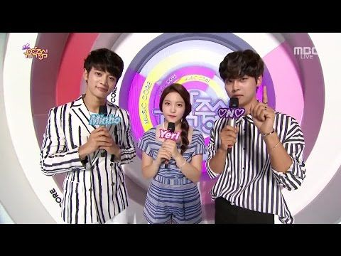 SHINee Minho, Red Velvet Yeri & VIXX N MC, 민호 (샤이니), 예리 (레드 벨벳) & 엔 (빅스) @ Music Core [1080p] - YouTube