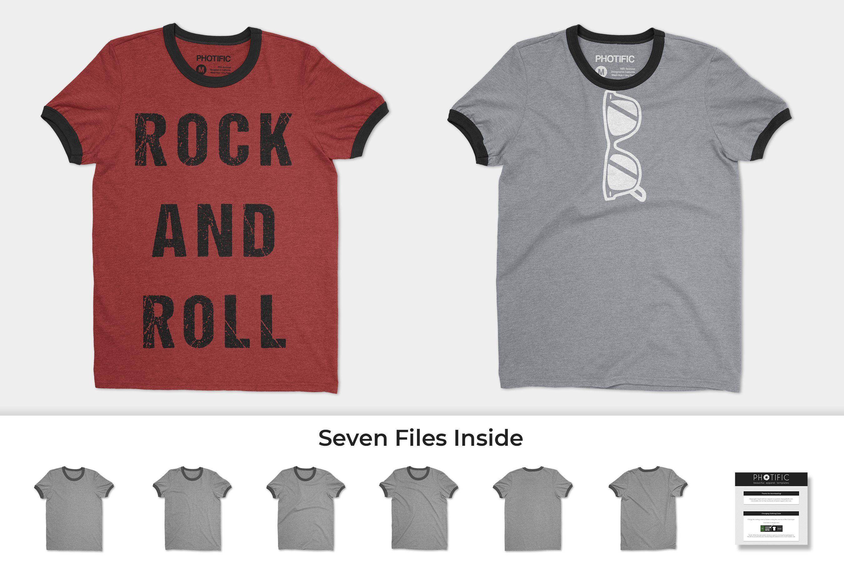 Download Ringer T Shirt Mockups Shirt Mockup Clothing Mockup Tshirt Mockup