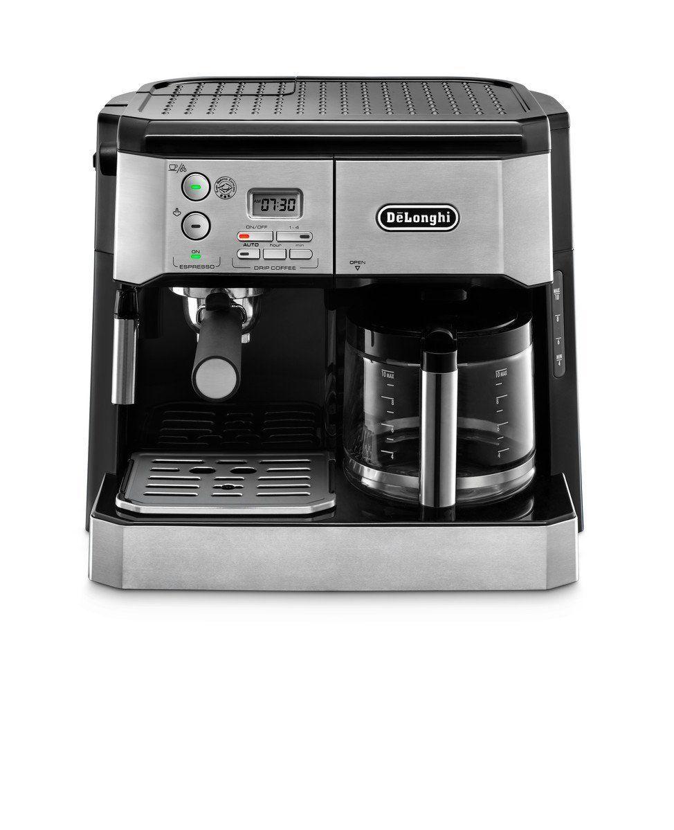 Amazon Com Delonghi America Bco430 Combi Coffee And Espresso Machine Silver Kitchen A Coffee And Espresso Maker Best Espresso Machine Coffee Making Machine
