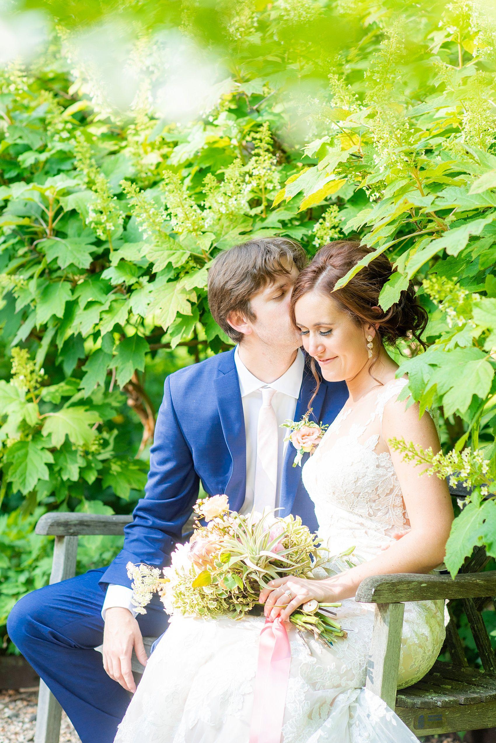 Olde Mill Inn and Cross Estate Gardens wedding photos in