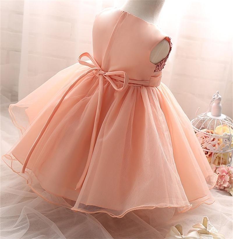Baby Girl Dress Wedding Baptism Princess Dresses for Flower Girls ...