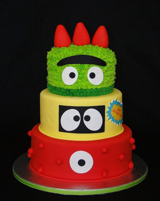 Enjoyable Yo Gabba Gabba With Images Birthday Cake Kids Boy Birthday Funny Birthday Cards Online Elaedamsfinfo