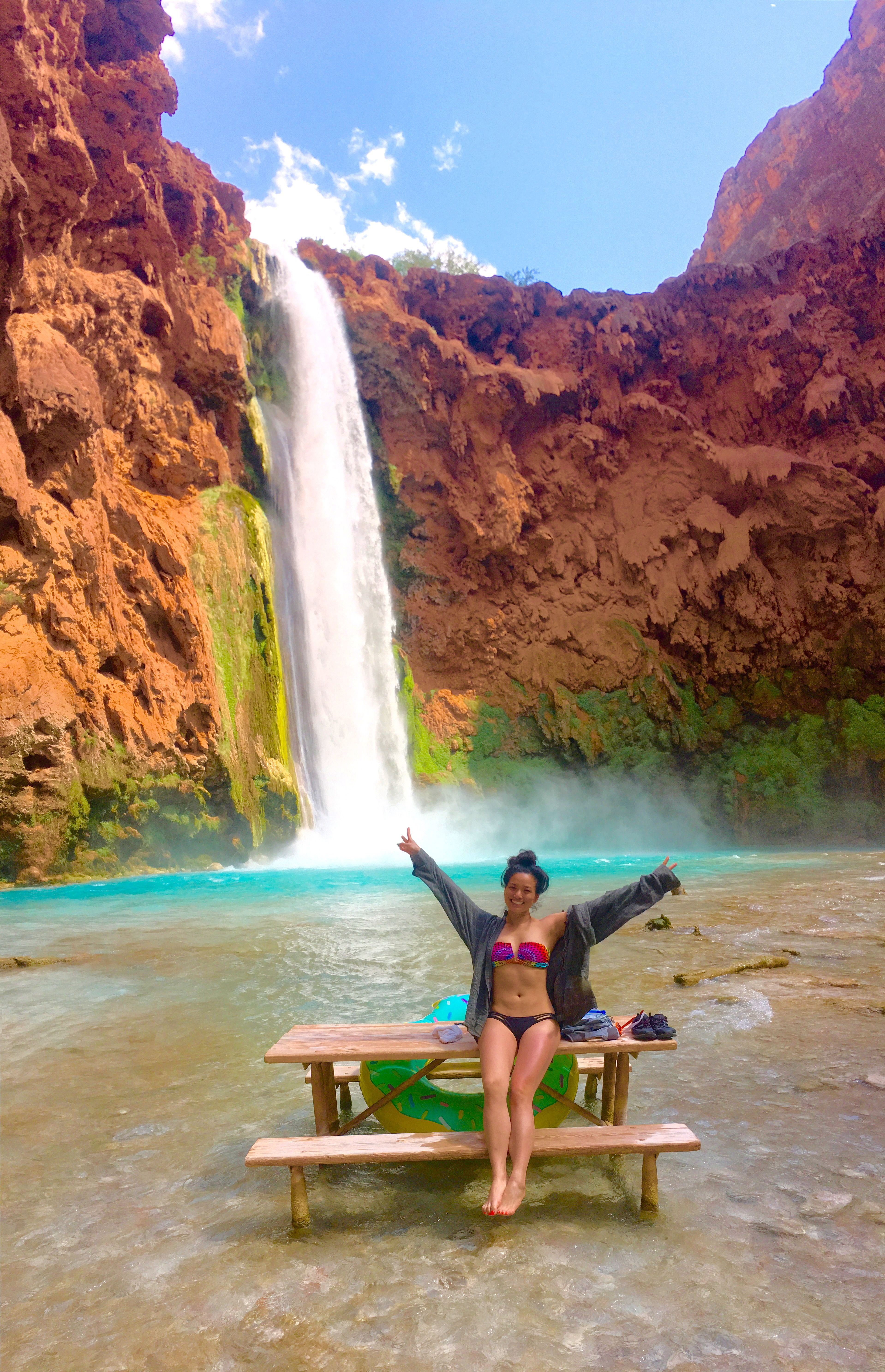 10 Tips For Hiking Havasupai Falls Havasupai Falls Havasu Falls Beautiful Places To Travel