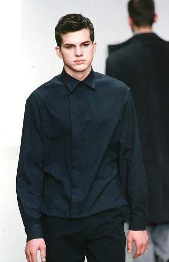 Ashton Kutcher Calvin Klein Fall 98 Runway Model 4 Me In 2019