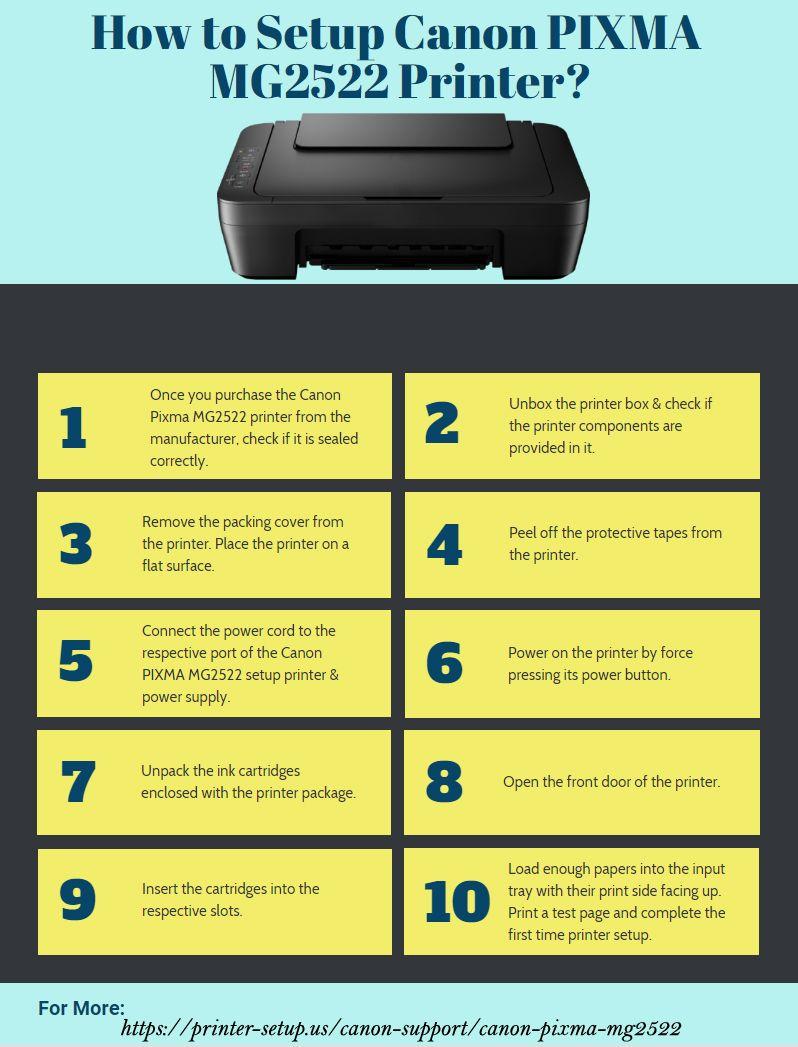 Canon Pixma mg20 Setup   Install canon mg20 printer driver ...