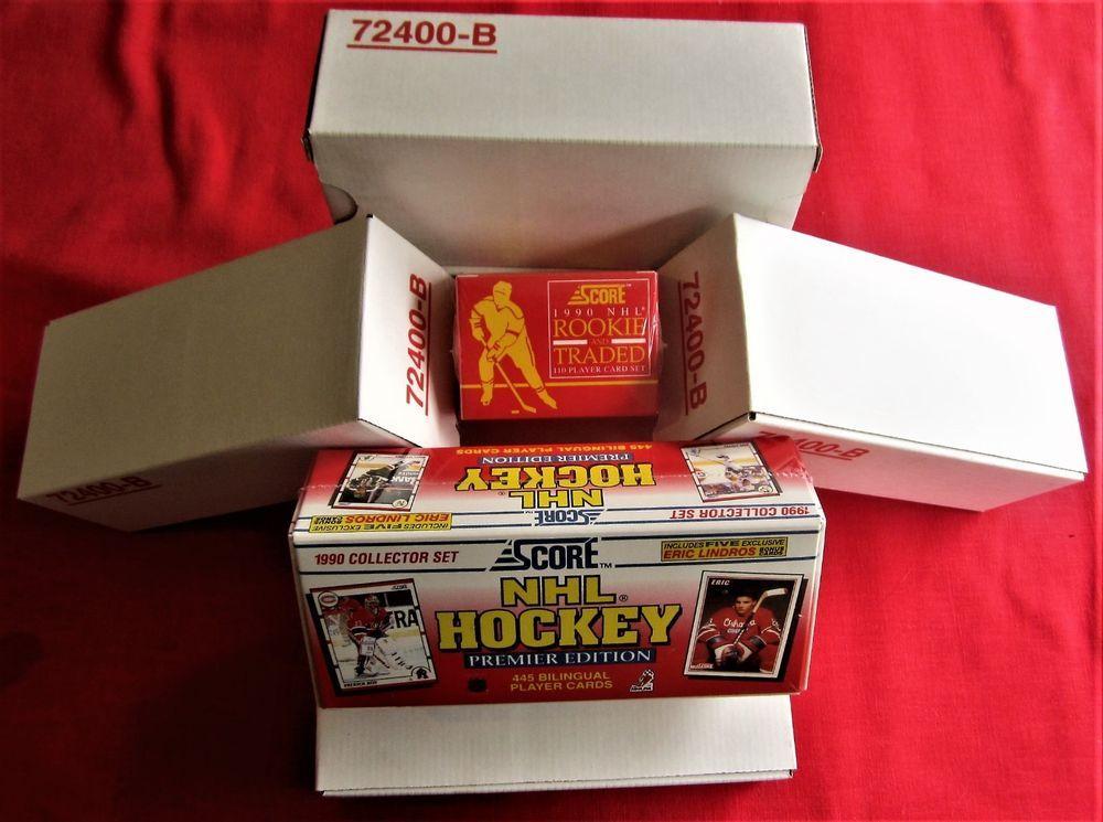 7 score 1990 bilingual hockey sets factory sealed jagr