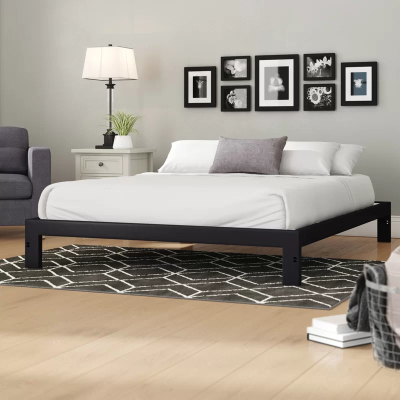 Platform Bed Frame in 2020 Platform bed frame, Bed