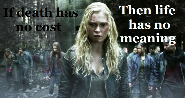 Quote from the 100 Season 2 Episode 8 Spacewalker | The 100