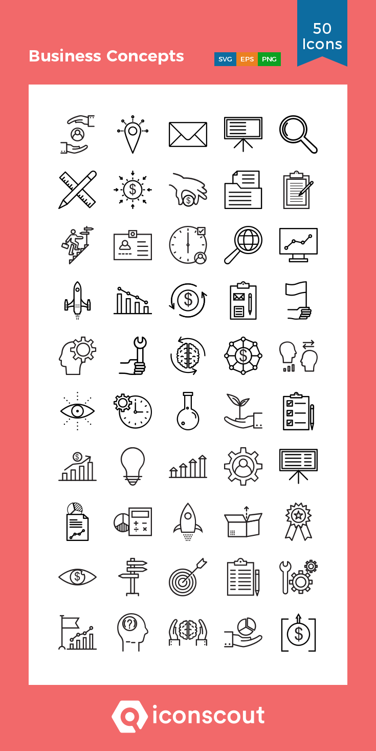 Download Business Concepts Icon Pack Available In Svg Png Eps Ai Icon Fonts Icon Pack Icon Business Icon