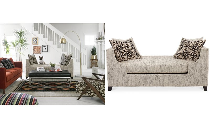 Enjoyable Vonna Fabric Daybed With 4 Toss Pillows Only At Macys Machost Co Dining Chair Design Ideas Machostcouk