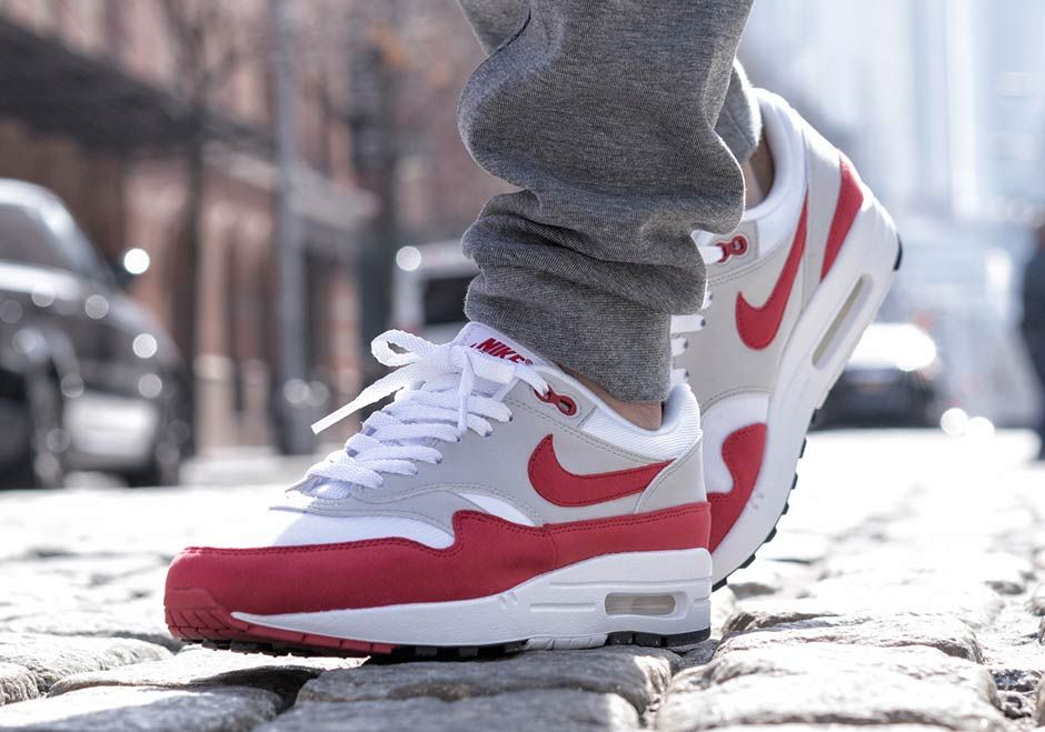 Nike Air Max 1 OG Sport Red GS Sizes Available | SneakerNews.com ...