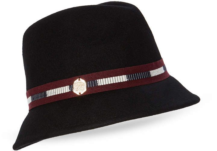 56bdefee146 Vince Camuto Ribbon Wool Cloche