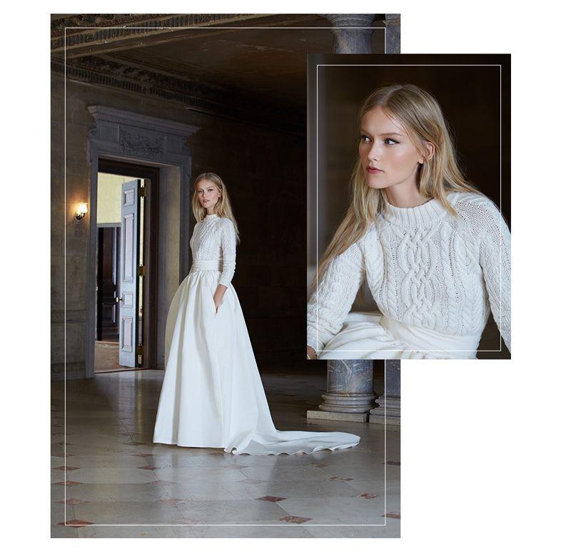 Bridal Inspiration: Dreamy Winter Wedding Dresses