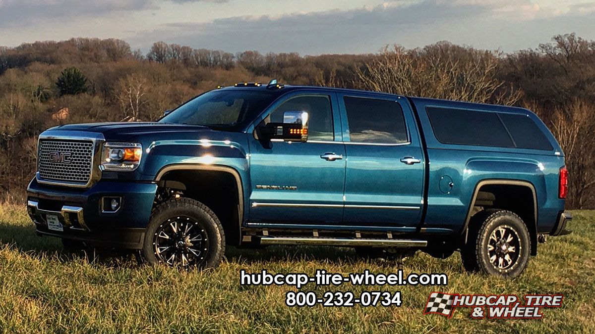2016 gmc sierra denali 2500 on fuel d513 throttle wheels