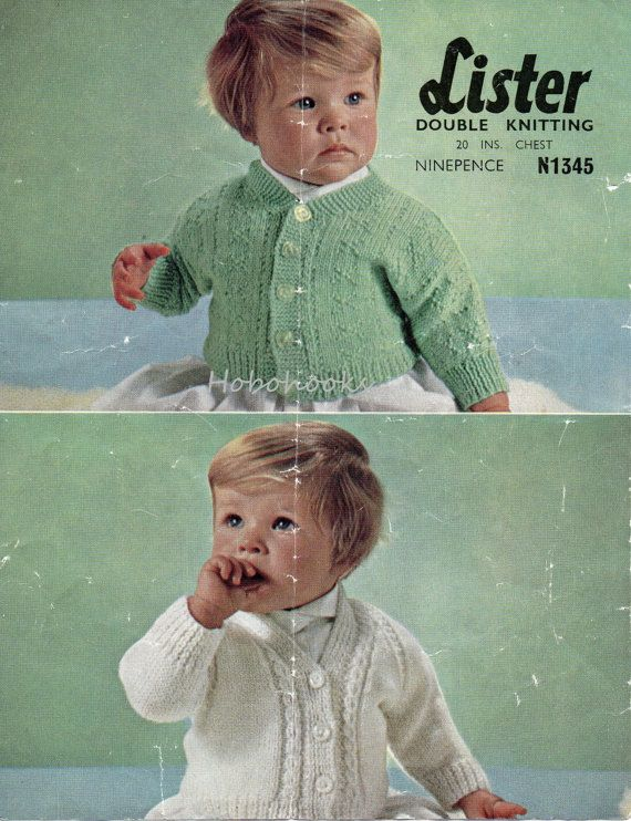 5117ac2eb vintage baby cardigan knitting pattern pdf dolman sleeve button ...
