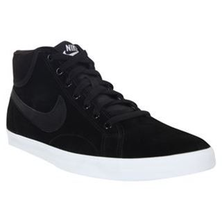 Nike Sweeper Trainers Mens BlackBlackWhite Shoes Sneakers