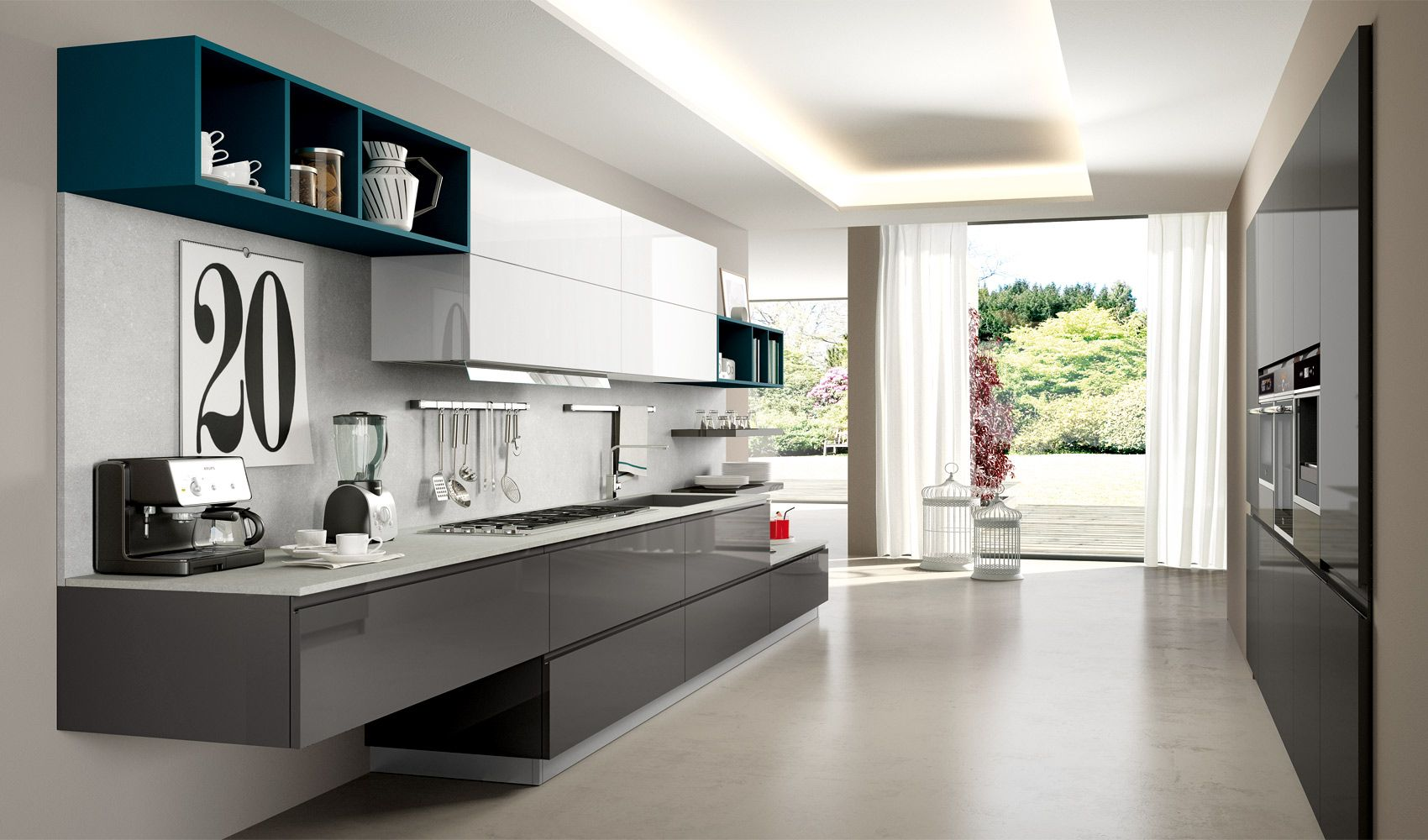 Pin by Arredo3 on Cucine Moderne - Wega | Pinterest | Kitchen ...