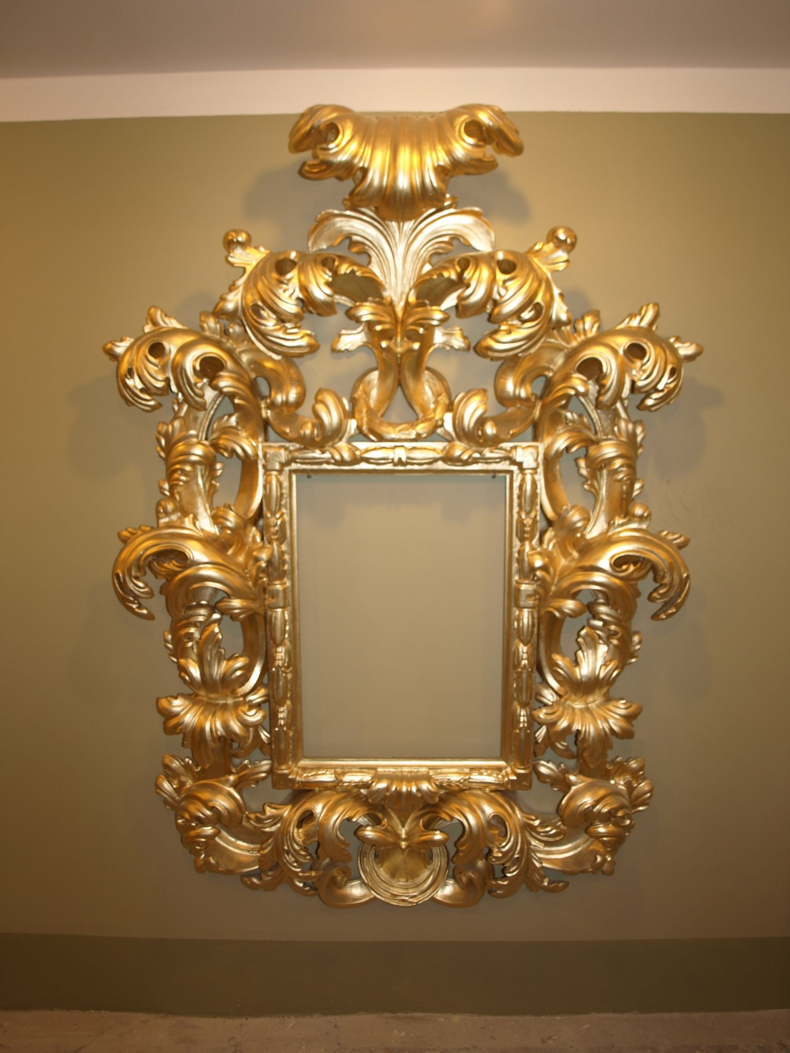 Gilted and Carved Wood Frame. by Haralds Gerts | My Works ...
