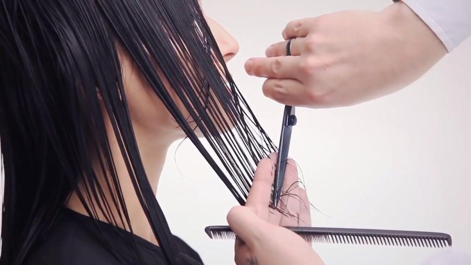 vidal sassoon graduated haircut tutorial / basic haircut