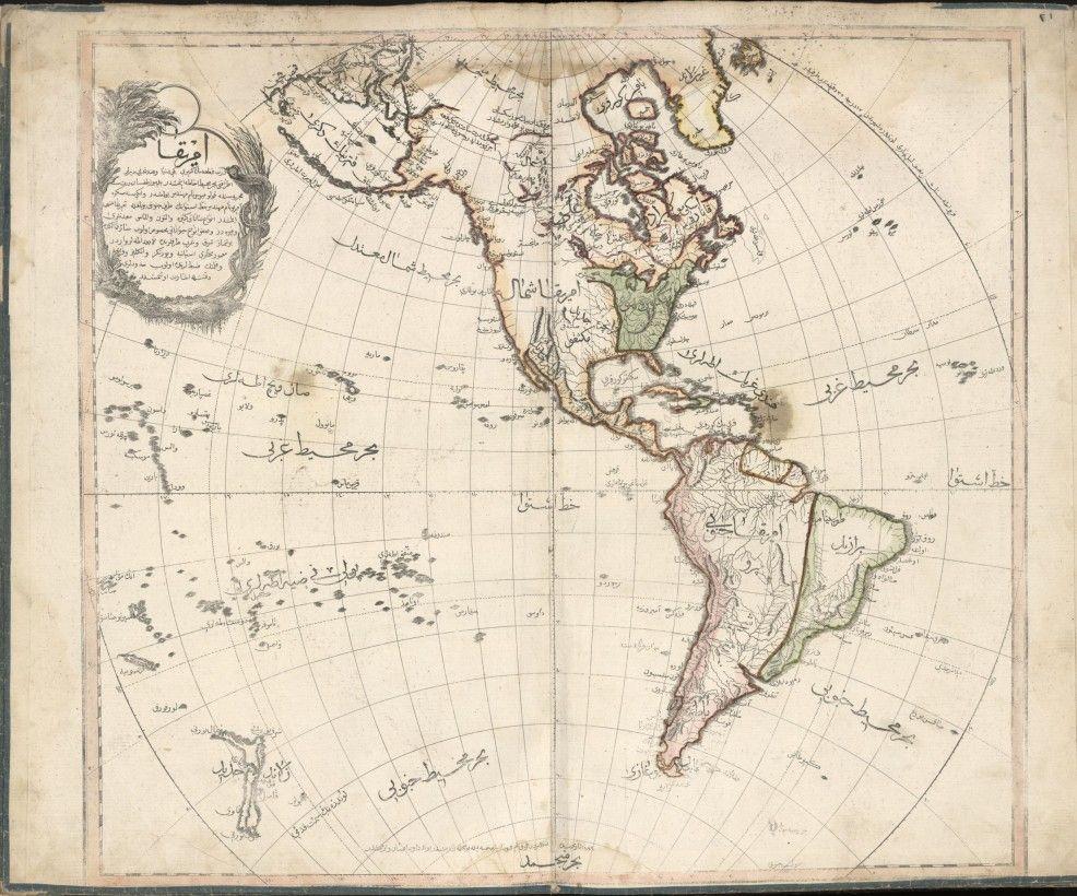 Le Cedid Atlas Le Premier Atlas Moderne Du Monde Musulman Grandes Canaries San Salvador Andalousie