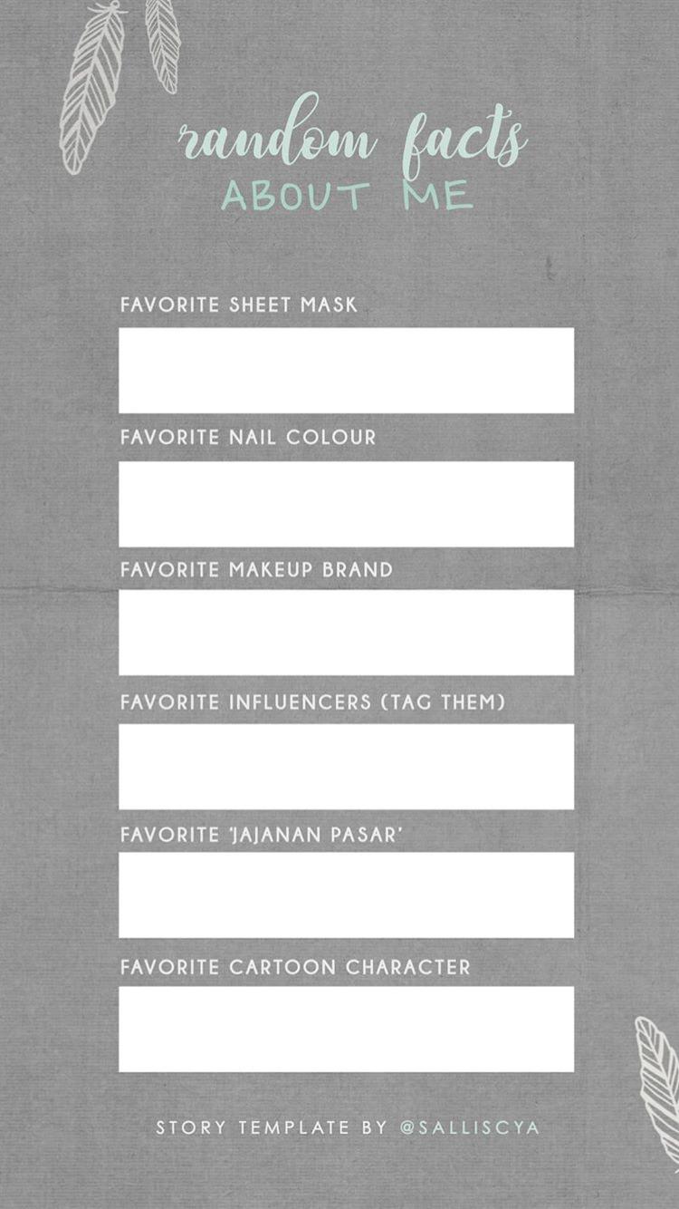 Instagram stories template - social media marketing - quiz ...