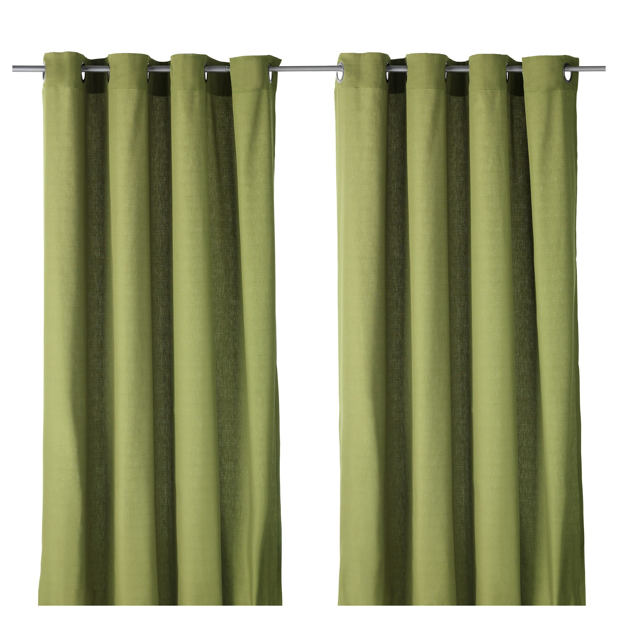 Mariam Curtains 1 Pair Ikea These Aren T Bad For The Kitchen But I D Really Rather Have White With Green Print On It To Bring More Light Into