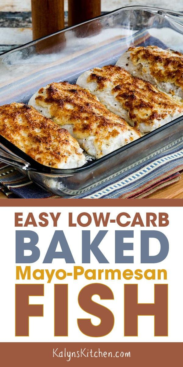 Easy Low-Carb Baked Mayo-Parmesan Fish (Video)